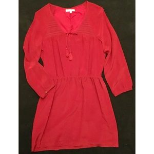 Madewell Dress Size 4 Red